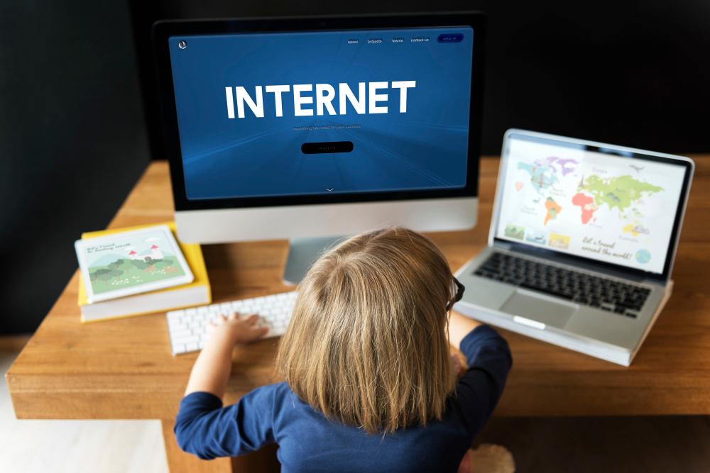 dzieci w świecie wirtualnym